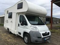 Peugeot boxer new life 4 birth camper van motor home 26000 miles