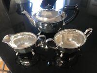Siler plated tea set