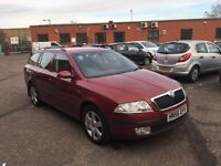 2006 Skoda Octavia Diesel Estate Good Condition with history and mot