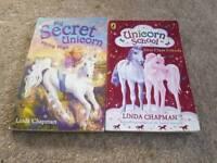 Unicorn books x 2