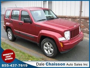 2011 Jeep Liberty Sport 4x4  3.9% $129 Bi-Weekly $0 Down Tax Inc
