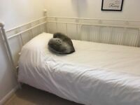 Lovely single bed with mattress
