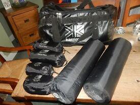 Karrimor waterproof kit bag and camping stuff