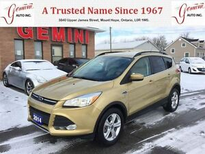 2014 Ford Escape SE Navi Leather 4wd 2.0 Ecoboost