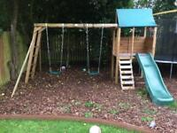 Garden Swing and Play Set