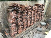 Reclaimed handmade clay roof pantiles - REDUCED FOR A QUICK SALE