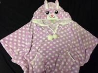 Fluffy Bunny/Rabbit Poncho Nightwear