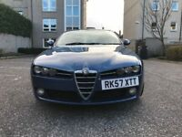 SUPERB ALFA 159 1.9 JTD DIESEL-6 SPEED GEARBOX-VERY LOW MILEAGE-1 FORMER KEEPER-FULL SERVICE HISTORY