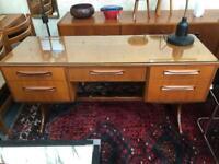 Vintage retro Gplan teak desk