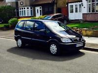 Vauxhall Zafira 1.6, 7 Seater With MOT & Service History, Only 1 Former Keeper, Cheap 4 Insurance