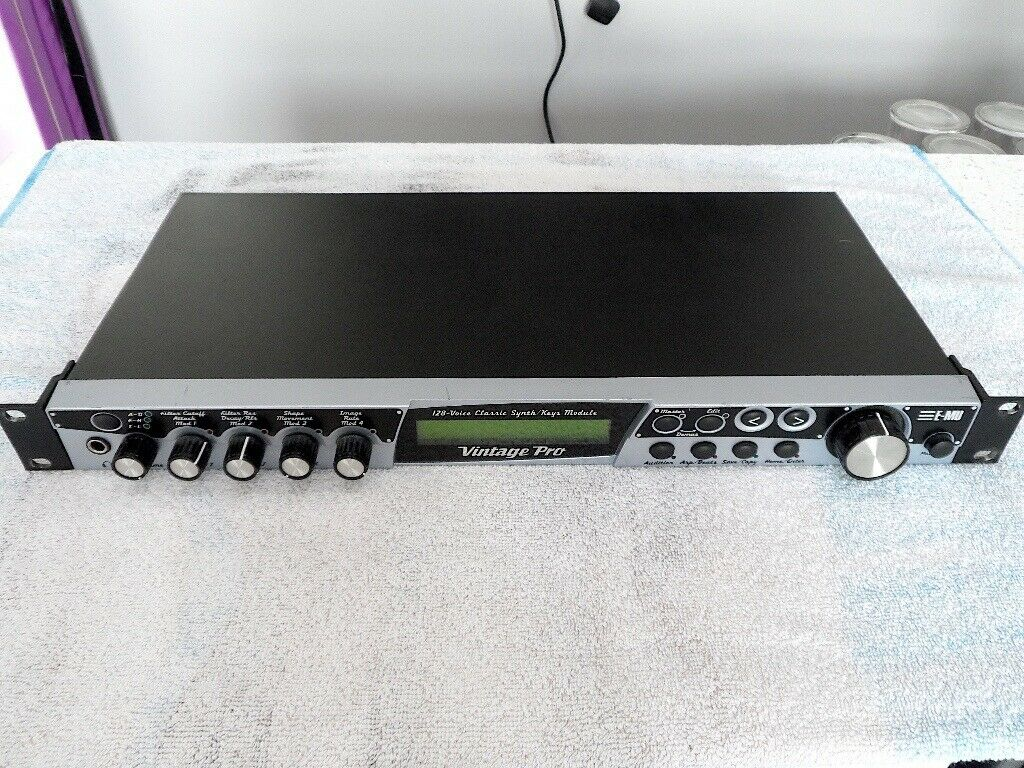 EMU Vintage Pro Midi Sound Module Rack Synthesizer, Synth | in Wigan,  Manchester | Gumtree