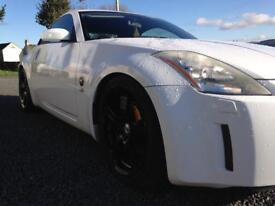 Nissan 350z Stunning White!! UK Car, Very Rare!!