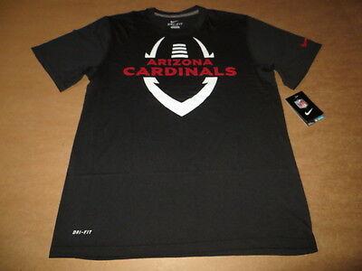 Nfl Arizona Cardinals (Arizona Cardinals NFL Legend Football ICON Nike Dri Fit Men's T-Shirt Black)