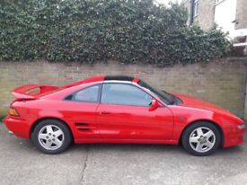 Lovely example MR2 for sale. Low mileage for age of car, runs well and has full service history.