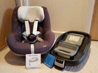 Maxi Cosi Pearl Group 1 Car Seat with Family Fix Base