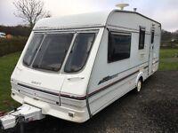 Caravan 4 berth swift baroness 1999 bargain