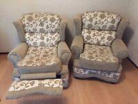Comfy Sofa, recliner and armchair