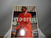 OPPOSUIT RED DEVIL SMART STAG MENS ADULT PARTY FUNKY SUIT JACKET TIE TROUSERS