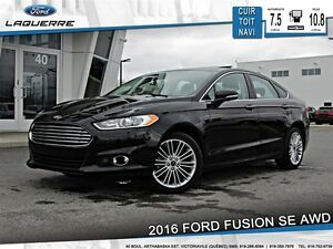 2016 Ford Fusion **SE*AWD*CUIR*TOIT* NAVI*CAMERA*A/C**