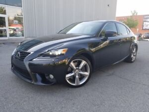 2014 Lexus IS 350 NAVIGATION CAMERA FULLY LOADED