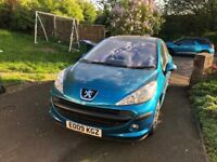 Peugeot 207 - 2009, 1.4 petrol, 82,518 miles, blue