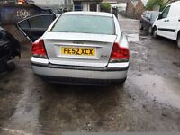 2002 VOLVO S60 D5 SE (AUTOMATIC DIESEL)- FOR PARTS ONLY