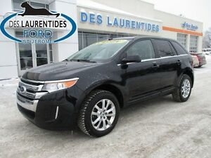 2014 Ford Edge Limited/AWD/GPS/CERTIFIÉ FORD
