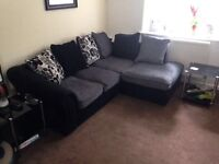 Selling due to house move, corner sofa just three months old, £350 or nearest offer