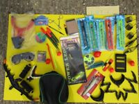 FISHING TACKLE 50 ITEMS ALL NEW AND UNUSED.
