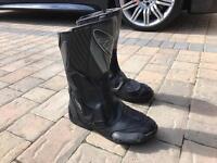 NITRO motorbike boots size 10