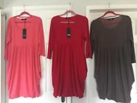 Drape dresses - large (ladies 16-18)