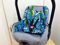 Carlo Group 0+ infant car seat