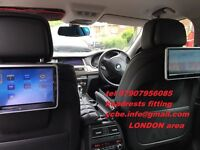 CAR DVD HEADREST FITTING INSTALLATION SPECIALIST in LONDON area