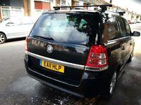 Vauxhall zafira 2011 plate 1.6 design mot may 2017 5 speed elw elm computer parking sensers new tyre