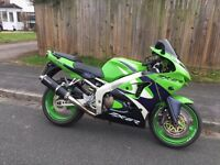 1999 KAWASAKI ZX6R £1200 ONO GREAT CONDITION 53,000 MILES LOTS OF HISTORY