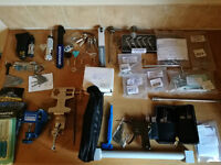 Locksmith Tools, Some new items and some used, great pictures on YouTube link