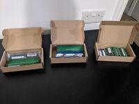 Various Sticks of RAM