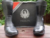 "Merlin ""Grand Atlas"" Tour WP boots, size 9."