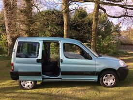 2009 citroen berlingo hdi crew van twin side doors 3 rear seats 2 in one van work and family leisure