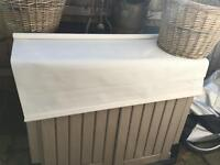 "Ikea White tuplur blind 48"" wide x 72"" drop"