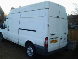 ford transit 125ps long wheel base high roof