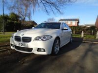2014 BMW 520D M SPORT AUTOMATIC, FULL SERVICE HISTORY, MEDIA PACKAGE, VERY GOOD CONDITION