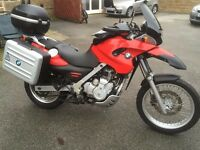 BMW F650 GS in excellent condition with FSH (BMW)