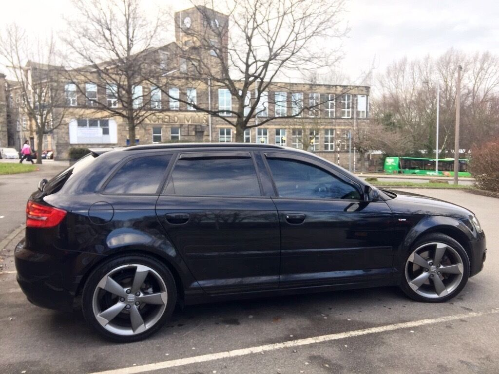 2012 audi a3 black edition s tronic 170 full audi s h s line dsg s3 golf r tdi quattro a4 a5 gt. Black Bedroom Furniture Sets. Home Design Ideas