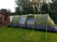 Gelert 8 berth tent with porch. Like new