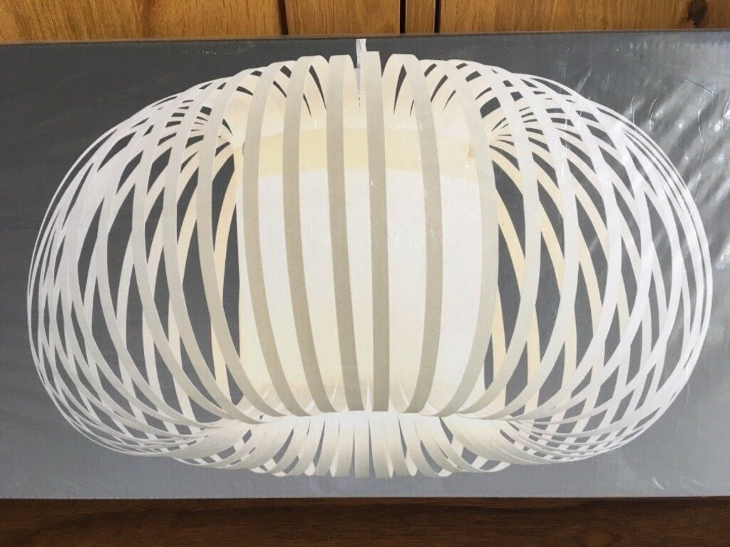 Brand New in Box NEXT AURA Pendant Lampshade Light shade easy fit ...