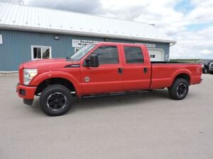 2015 Ford F-250 XL,DIESEL,CREW,LONG,4X4,NEW TIRES