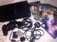 PS2 CONSOLE WITH CLASSIC GAMES BUNDLE