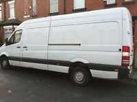 Hire Van Man and Van House furniture Sofa Fridge Removals House Clearance office clearance