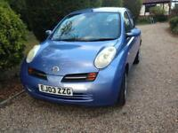 Nissan Micra London Lee 64,000 miles full service history